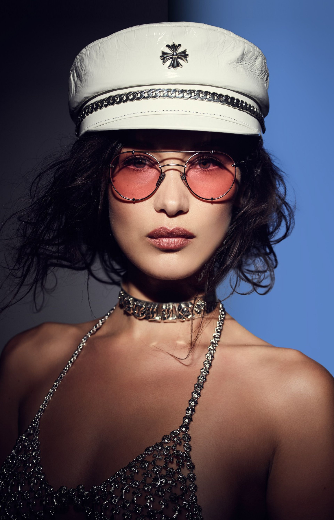 Bella Hadid Chrome Hearts