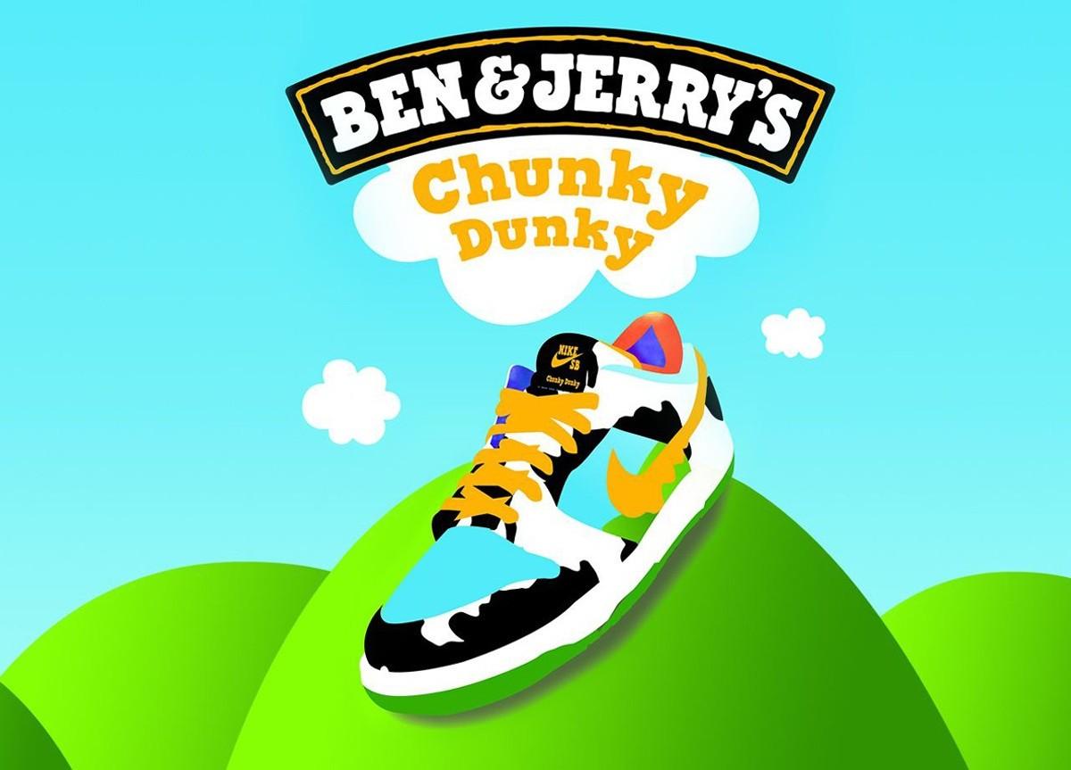Ben & Jerrys x Nike SB Dunk Low Chunky Dunky