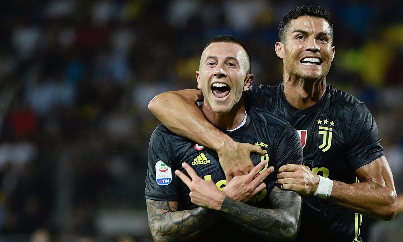 Bernardeschi Cristiano Ronaldo