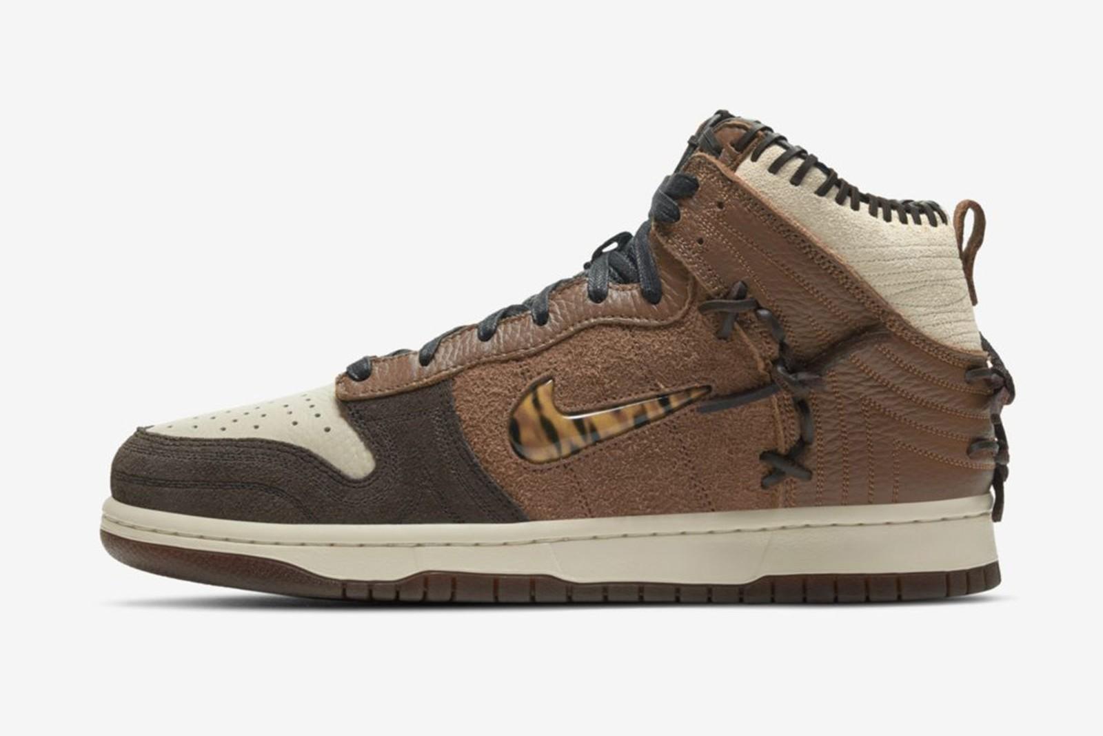 Bodega x Nike Dunk High Brown