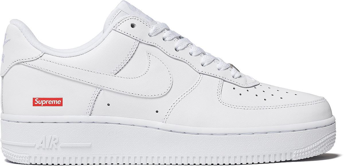 Le nuove Nike Air Force 1 in collaborazione con Supreme