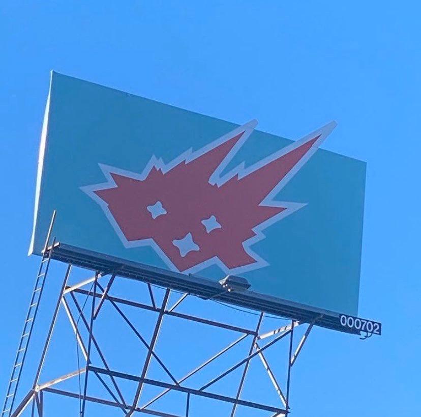 CACTI logo brand Travis Scott cartellone