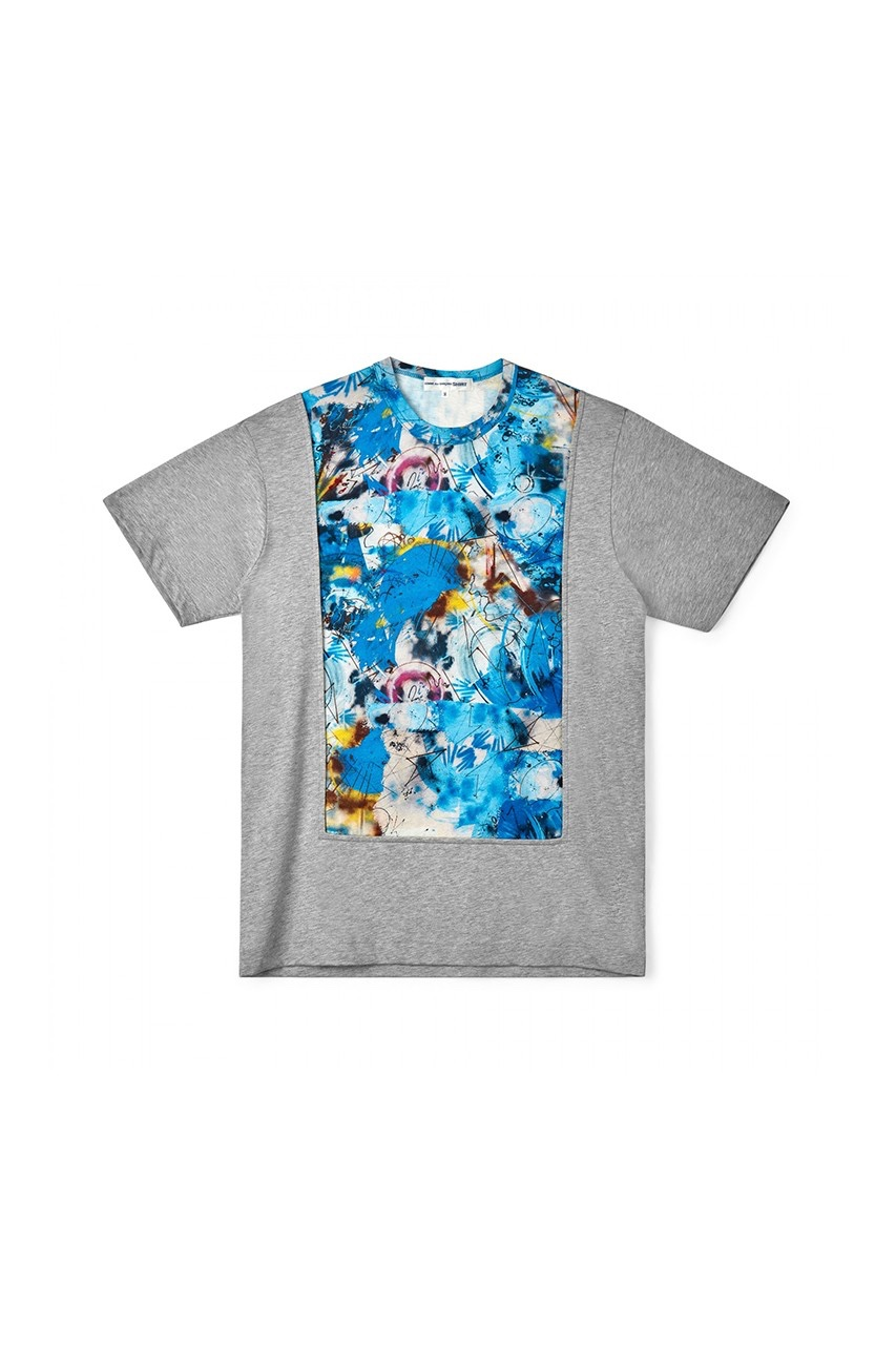 COMMES des GARÇONS SHIRT x Futura T-shirt grigia