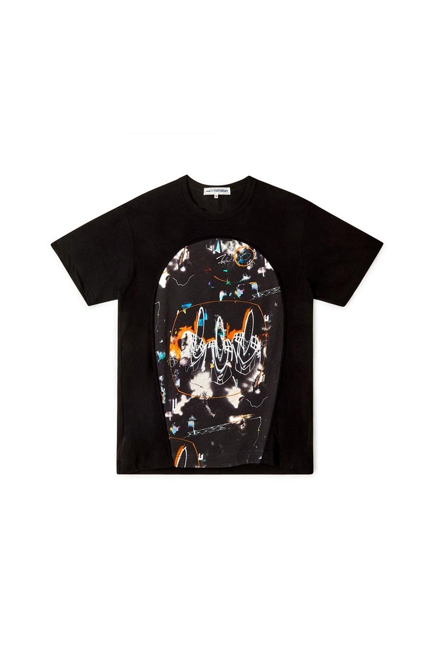 COMMES des GARÇONS SHIRT x Futura T-shirt nera