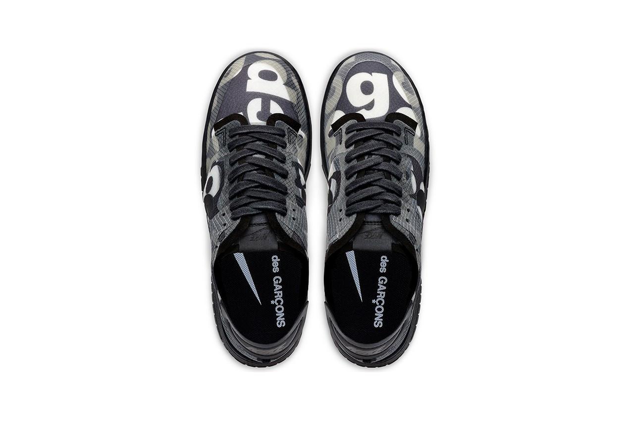 COMME des GARÇONS x Nike Dunk Low