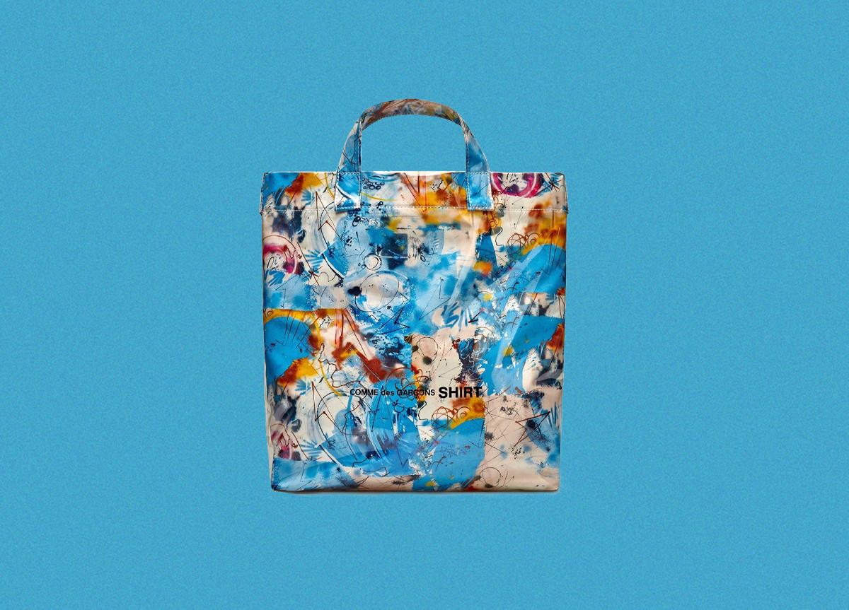 COMMES des GARÇONS SHIRT x Futura Bag