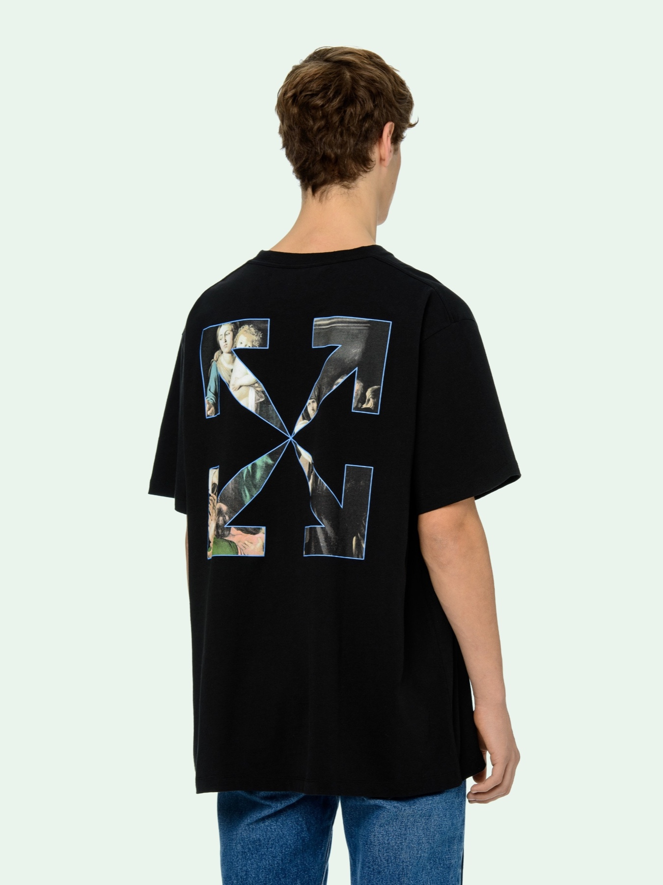 Off White Pivot Collection Caravaggio Painting S/S T-Shirt