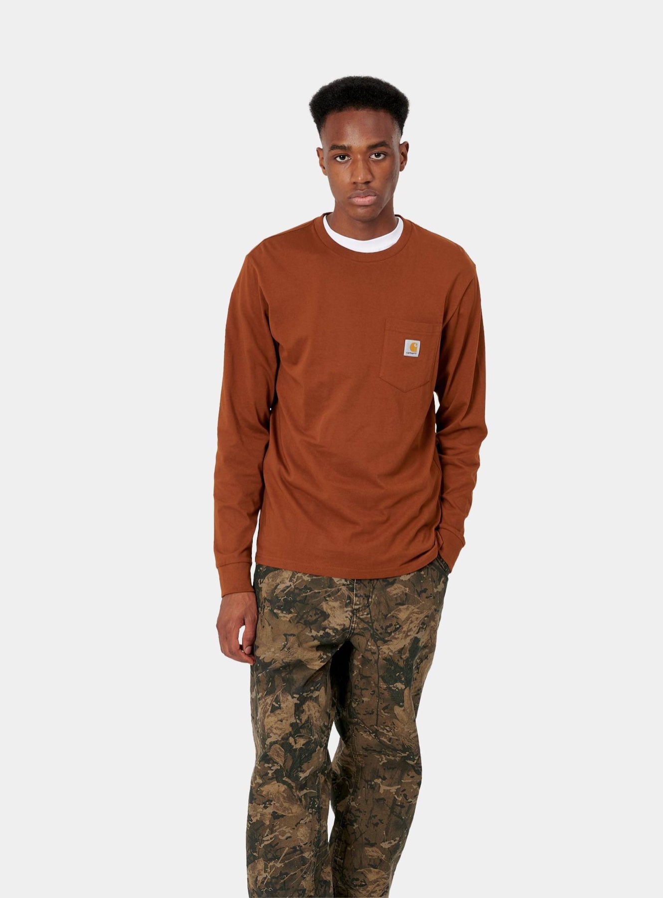 Carhartt WIP longsleeve shirt brown