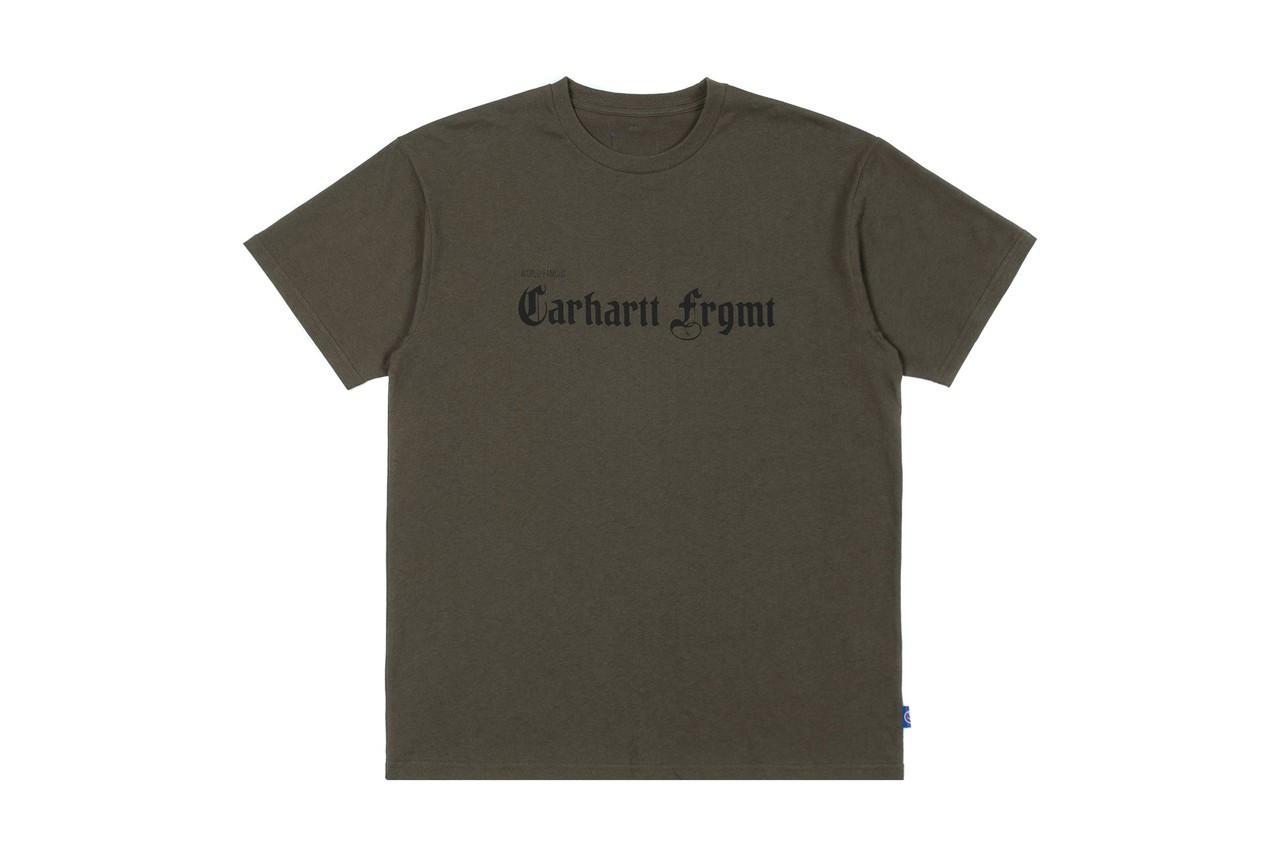 Carhartt fragment design T-shirt verde