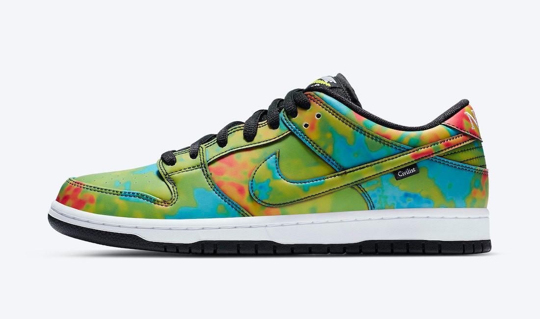 Civilist x Nike SB Dunk Low colorate