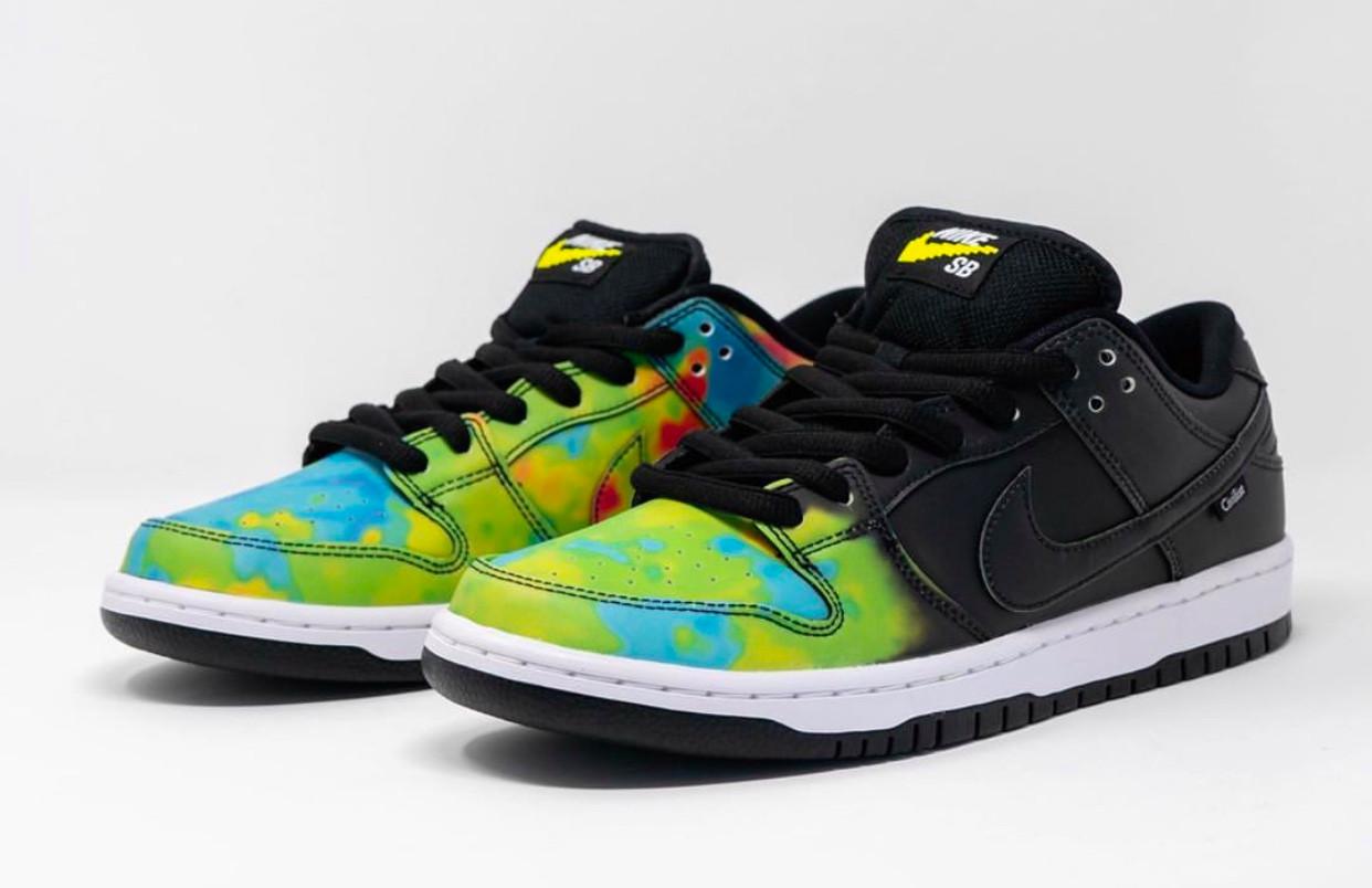 Civilist x Nike SB Dunk Low variazione colore