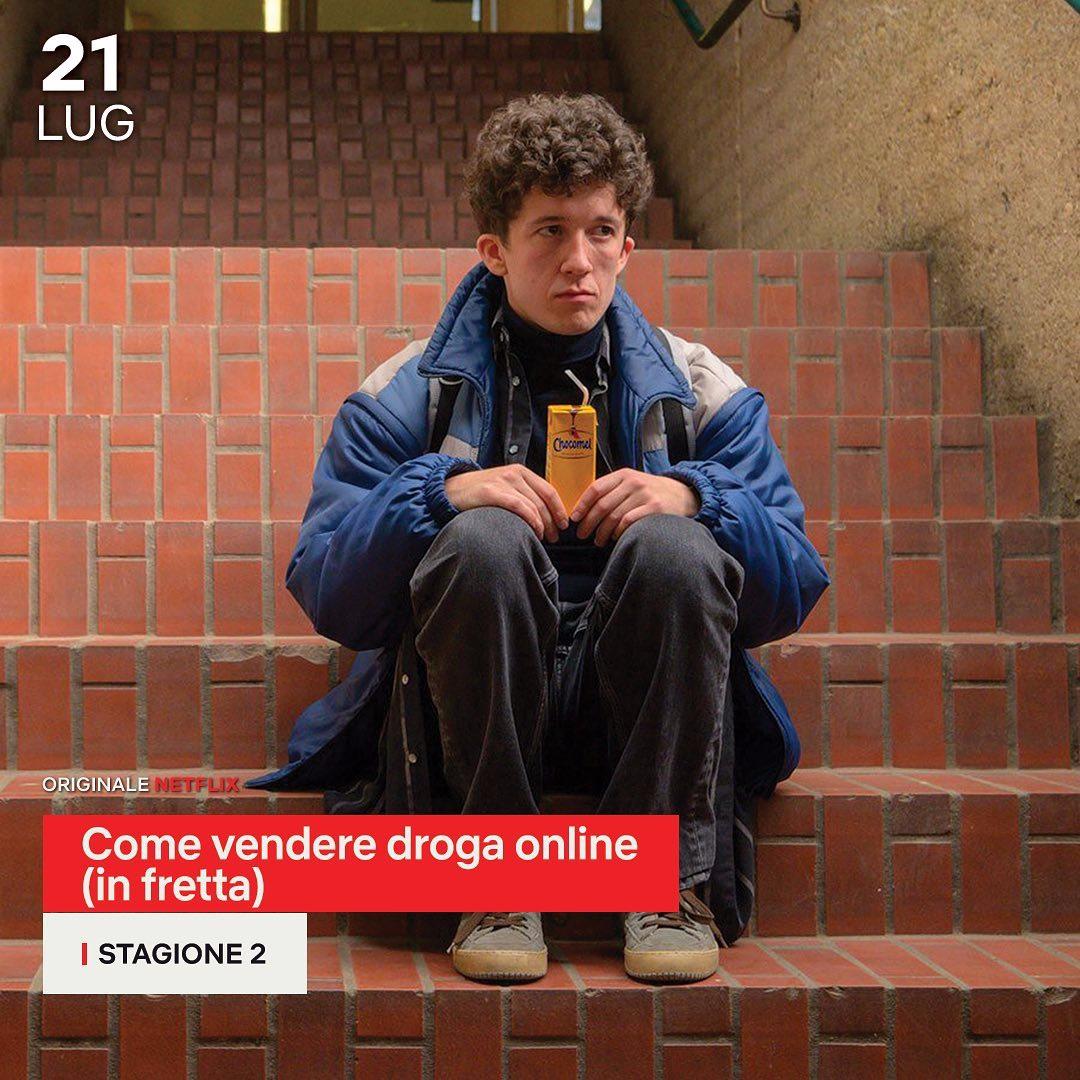 Come Vendere Droga Online in uscita 21 Luglio su Neflix