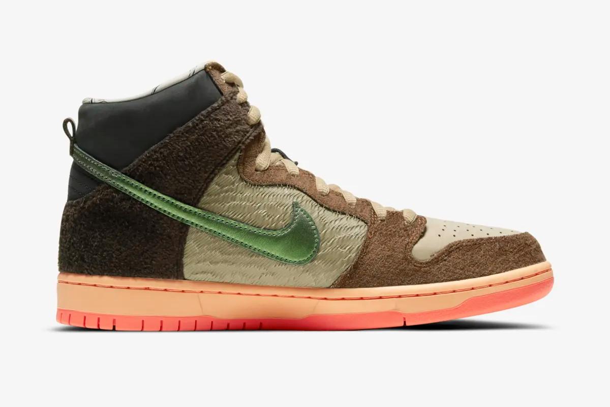 "Concepts x Nike SB Dunk High ""Mallard"""