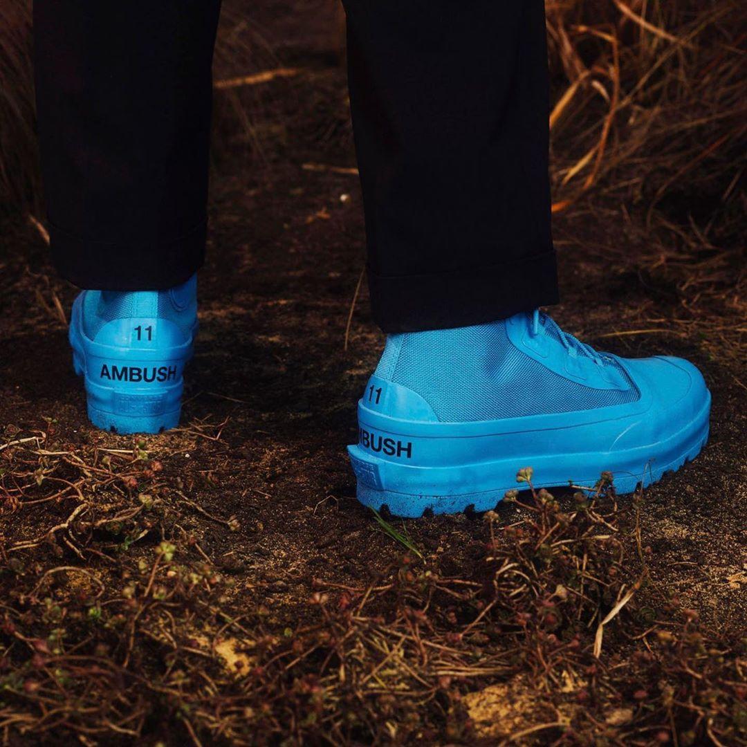 Converse Chuck Rubber Boots blue