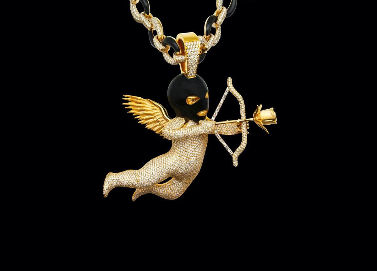 Drake Ski-Mask Cupido Chain