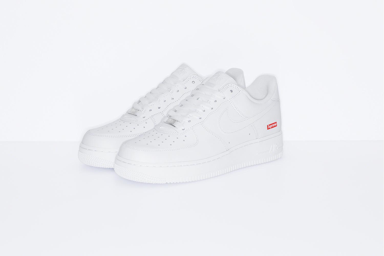 Supreme x Nike Air Force 1 Release