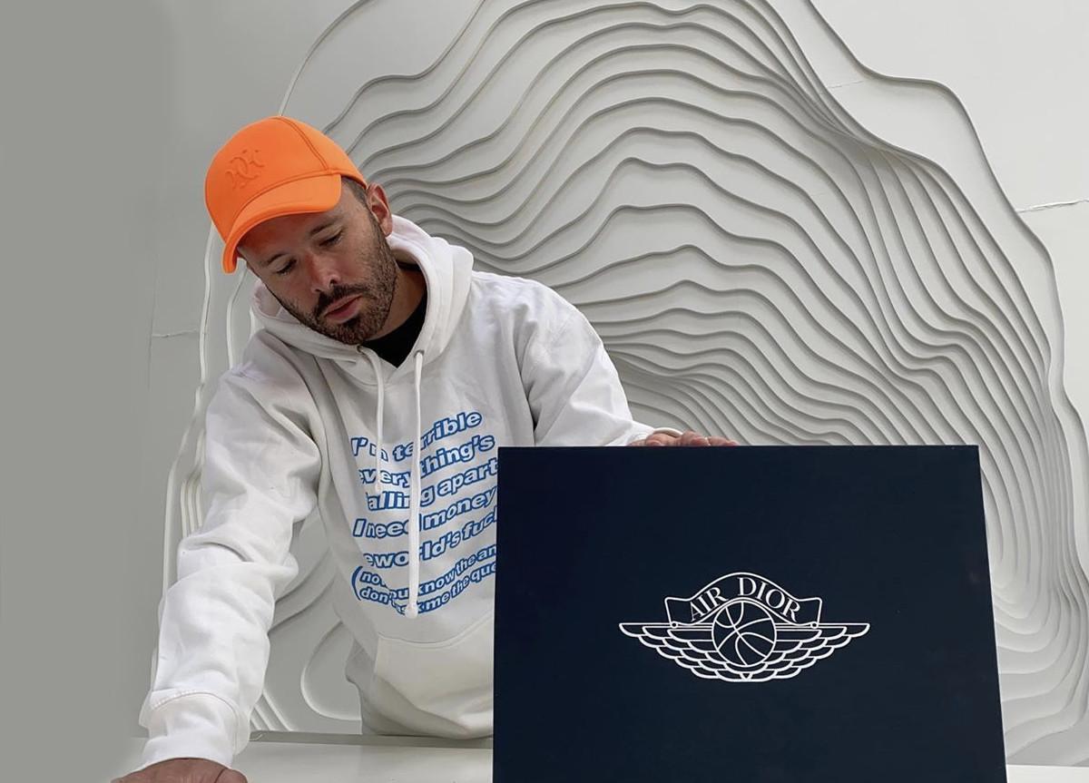 Daniel Arsham Dior x Air Jordan 1 hIGH