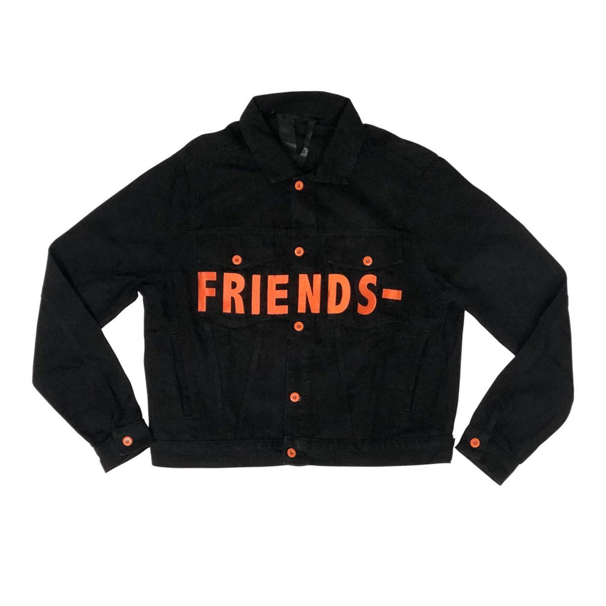 Denim Jacket VLONE FRIENDS
