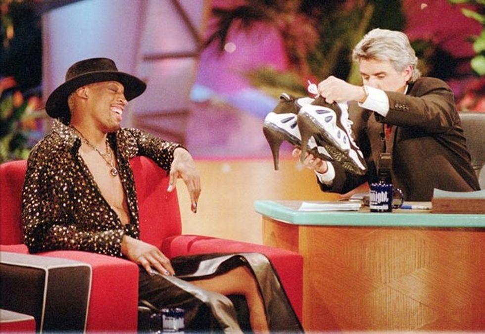 Dennis Rodman al Jay Leno Show