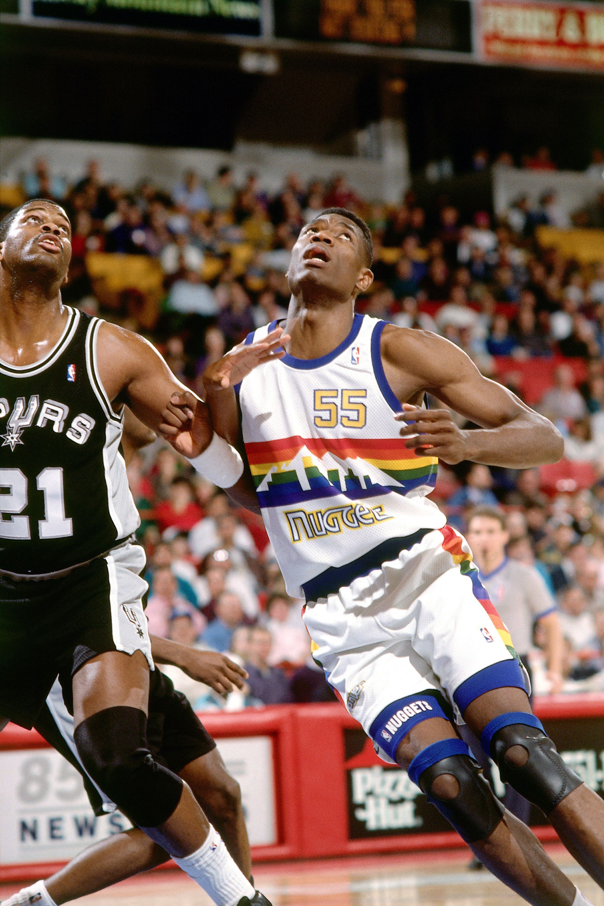 Denver Nuggets 1991 jersey Dikembe Mutombo
