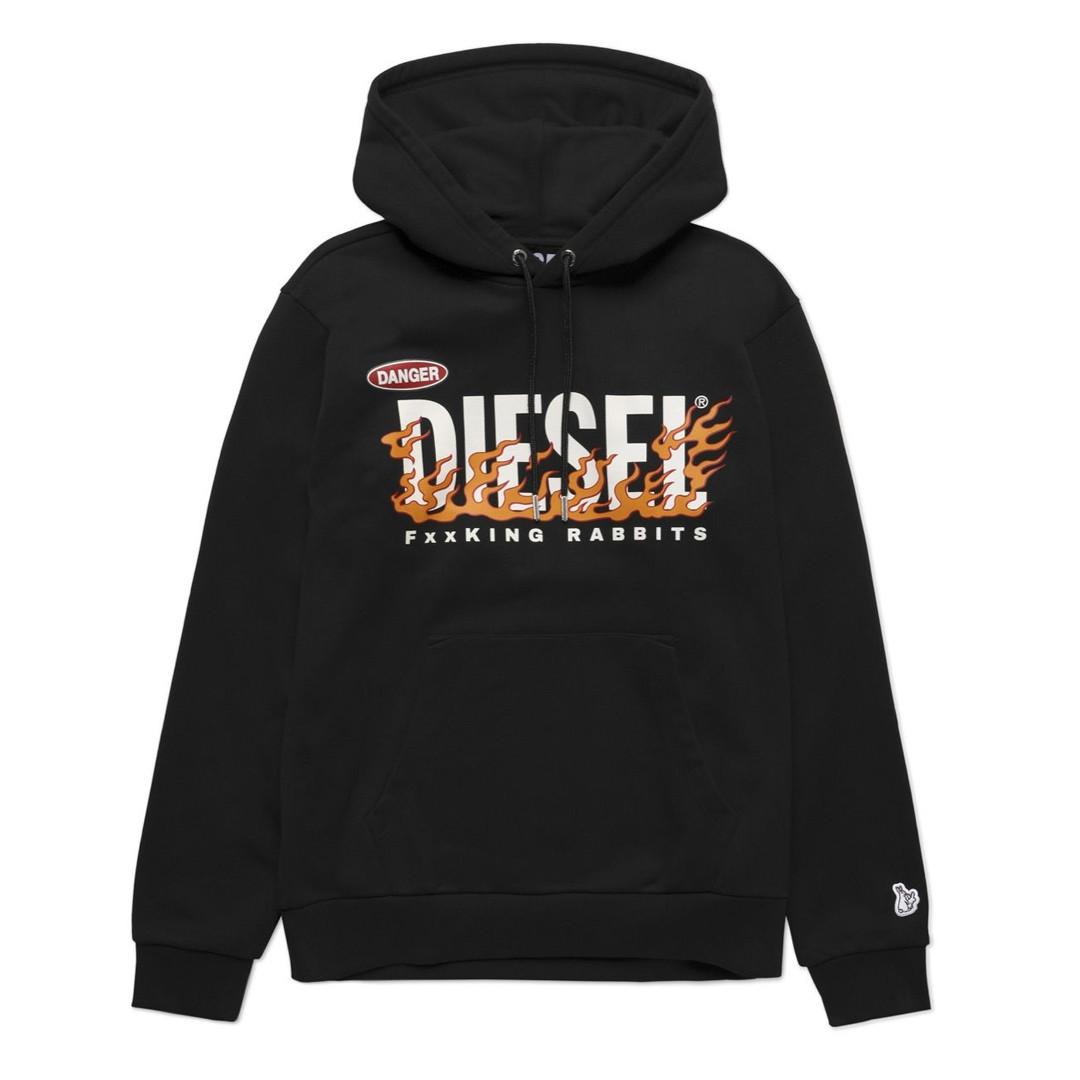 Diesel x GR8 hoodie