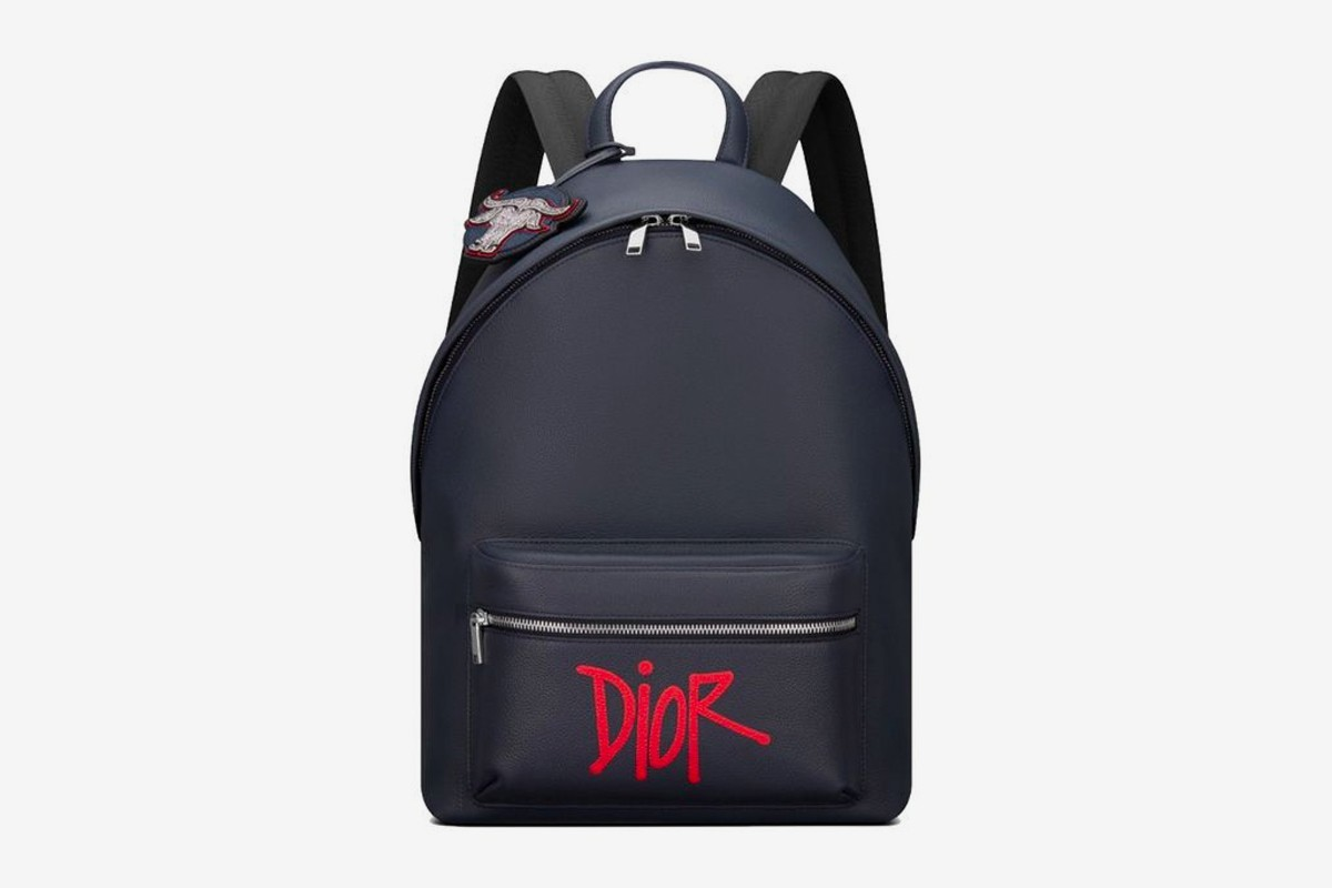 Dior x Stussy Capsule Collection Chinese New Year backpack