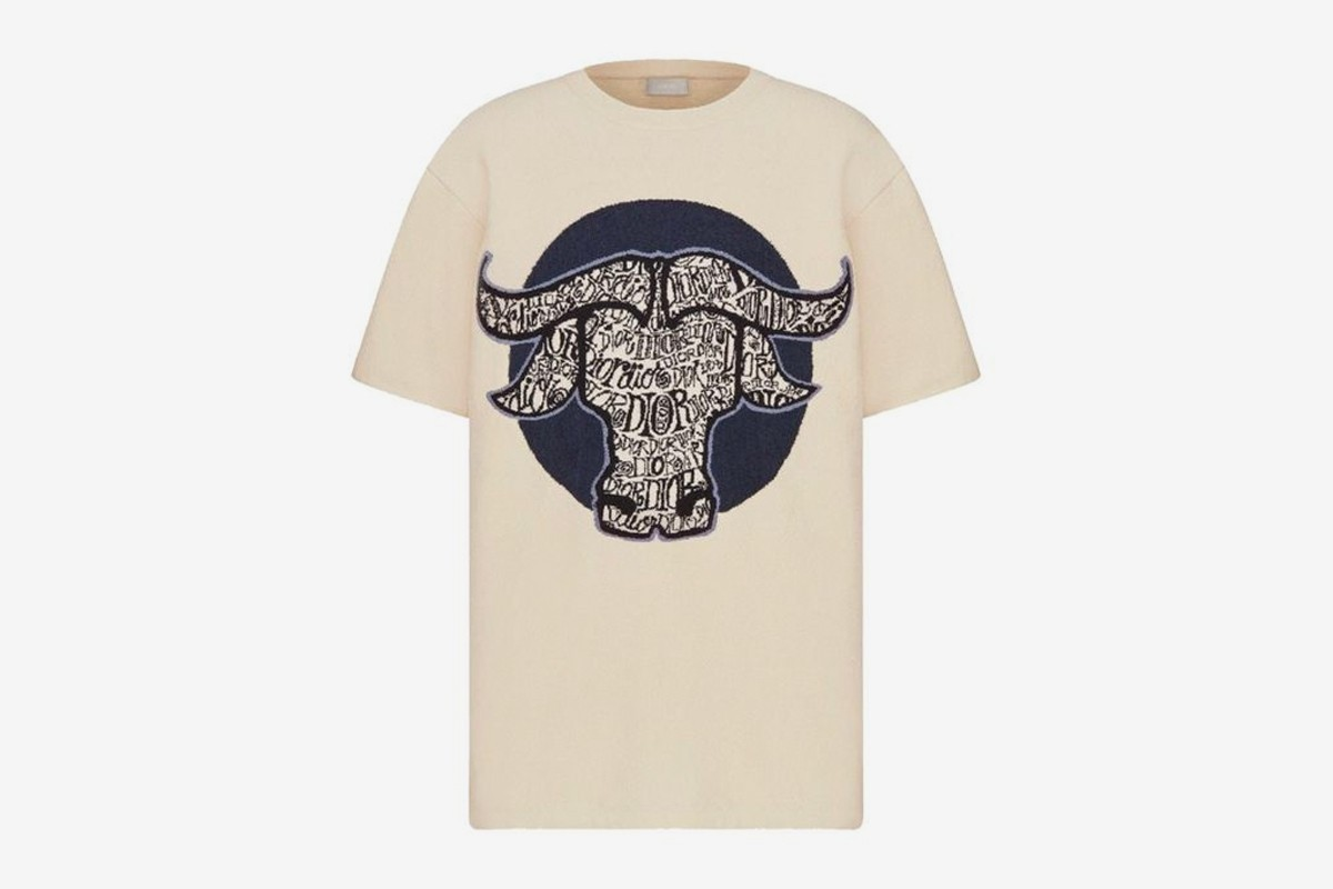 Dior x Stussy Capsule Collection Chinese New Year t-shirt