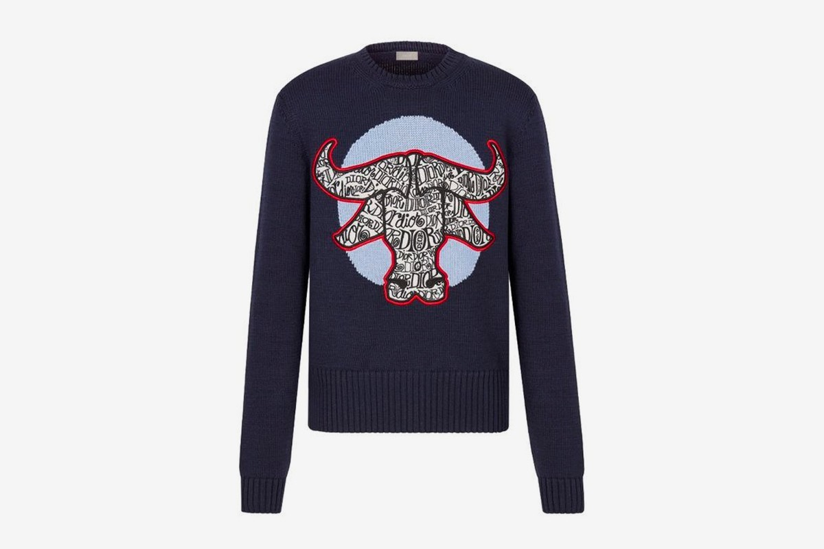 Dior x Stussy Capsule Collection Chinese New Year sweater