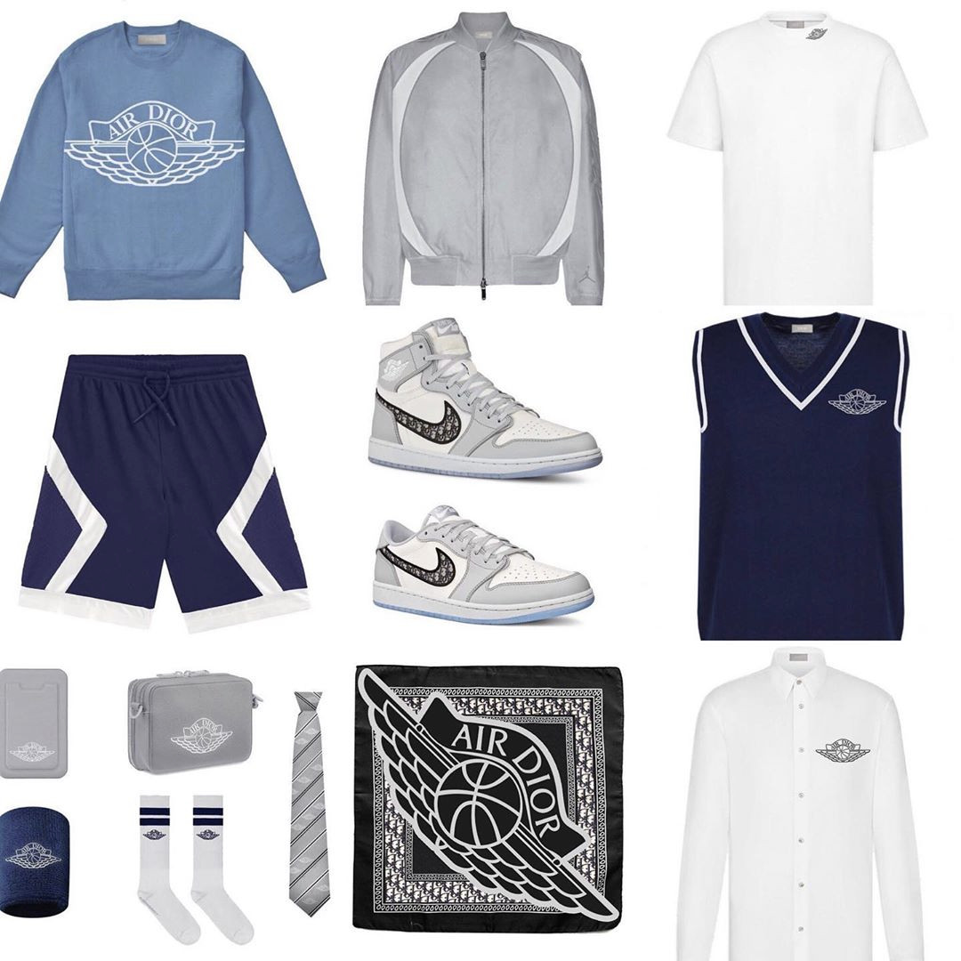 Dior x Jordan Brand capsule collection