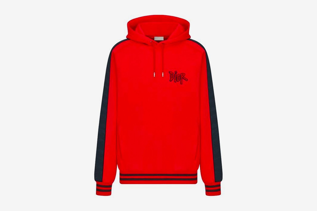 Dior x Stussy Capsule Collection Chinese New Year hoodie