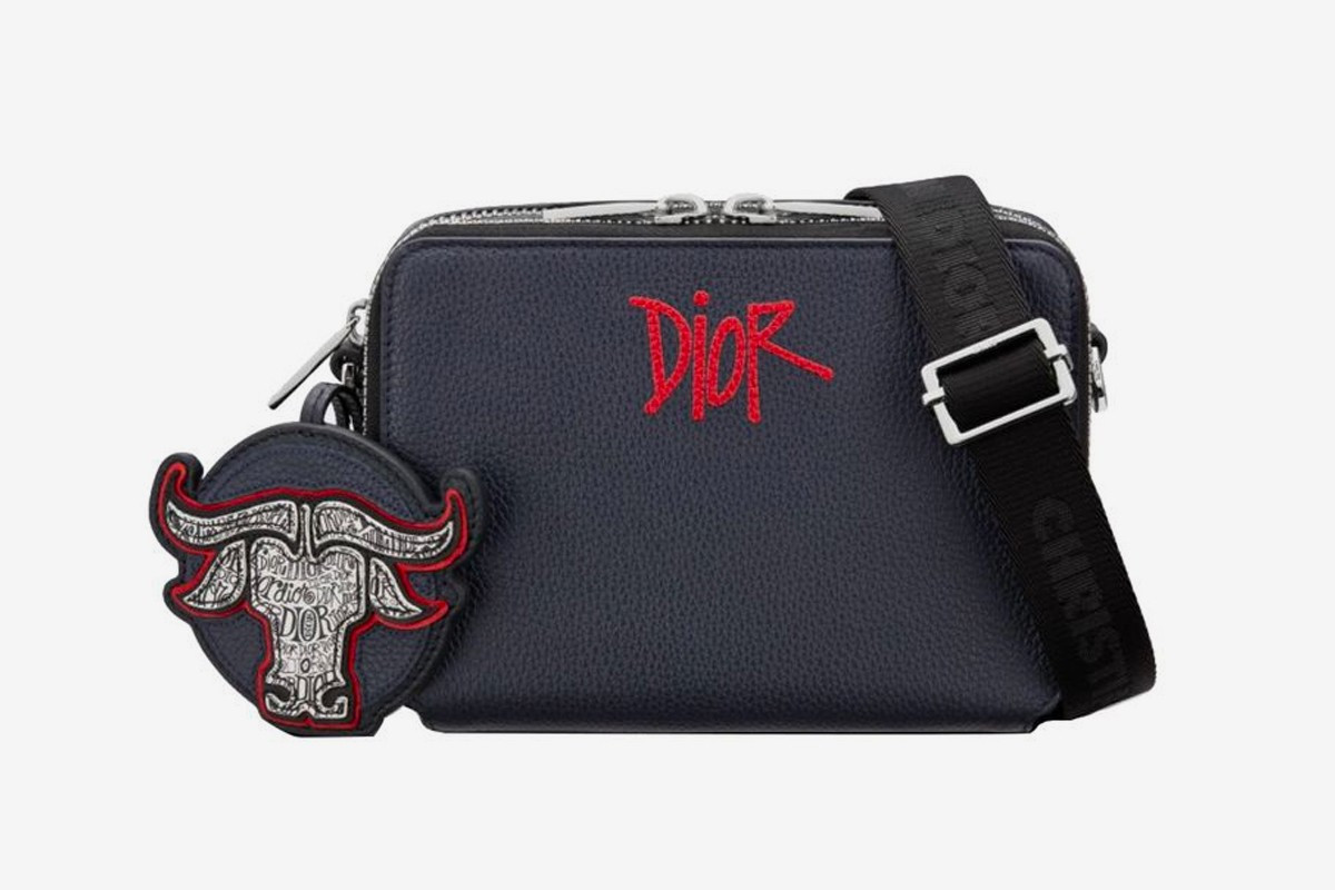 Dior x Stussy Capsule Collection Chinese New Year bag