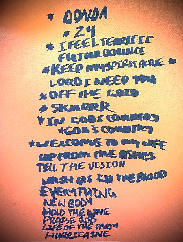 Kanye West nuovo album Donda Tracklist