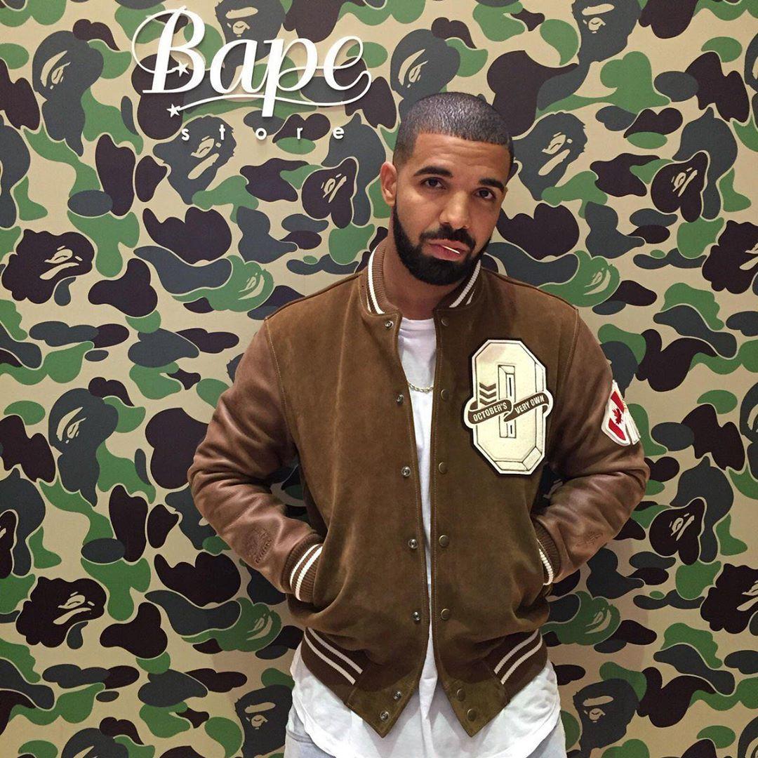 Drake OVO x BAPE