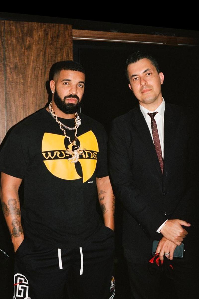 Drake collana cupido ski mask