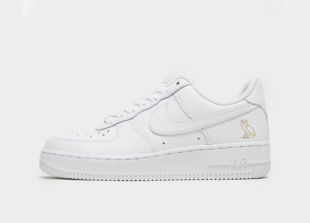 Drake x Nike Air Force 1 Triple White