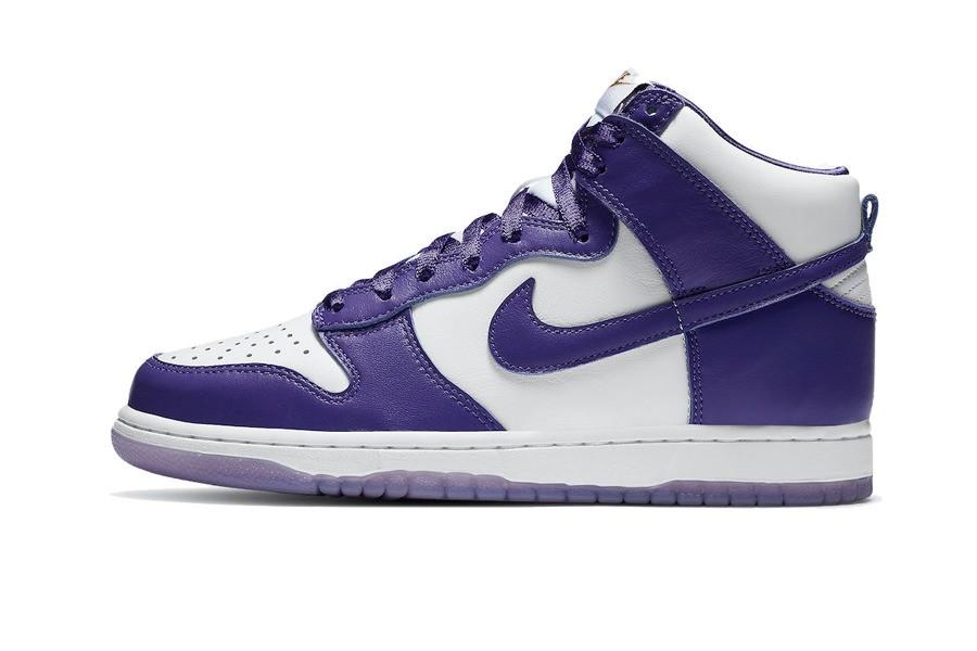 Nike Dunk HIgh Varsity Purple