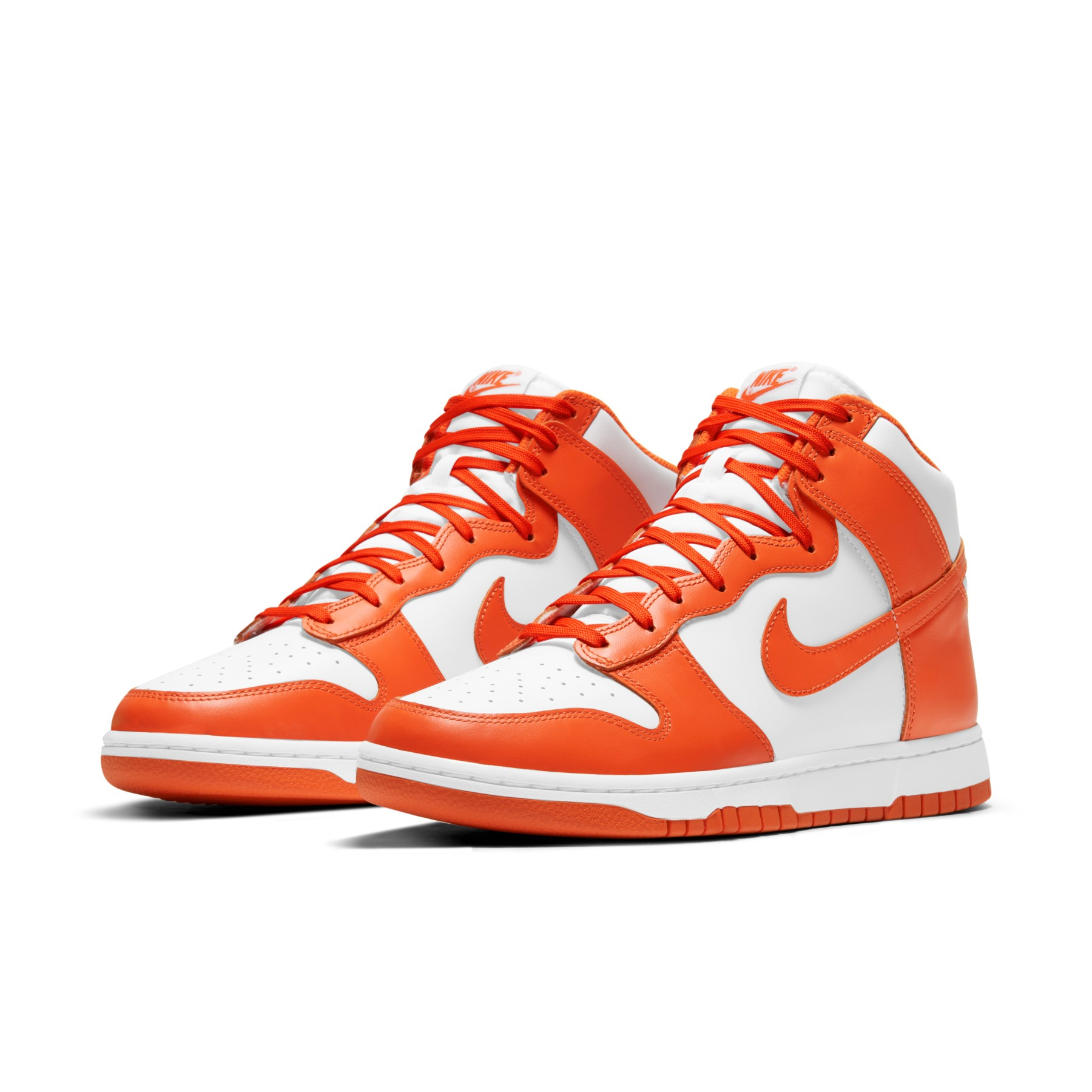 "Nike Dunk High ""White/Orange Blaze"""