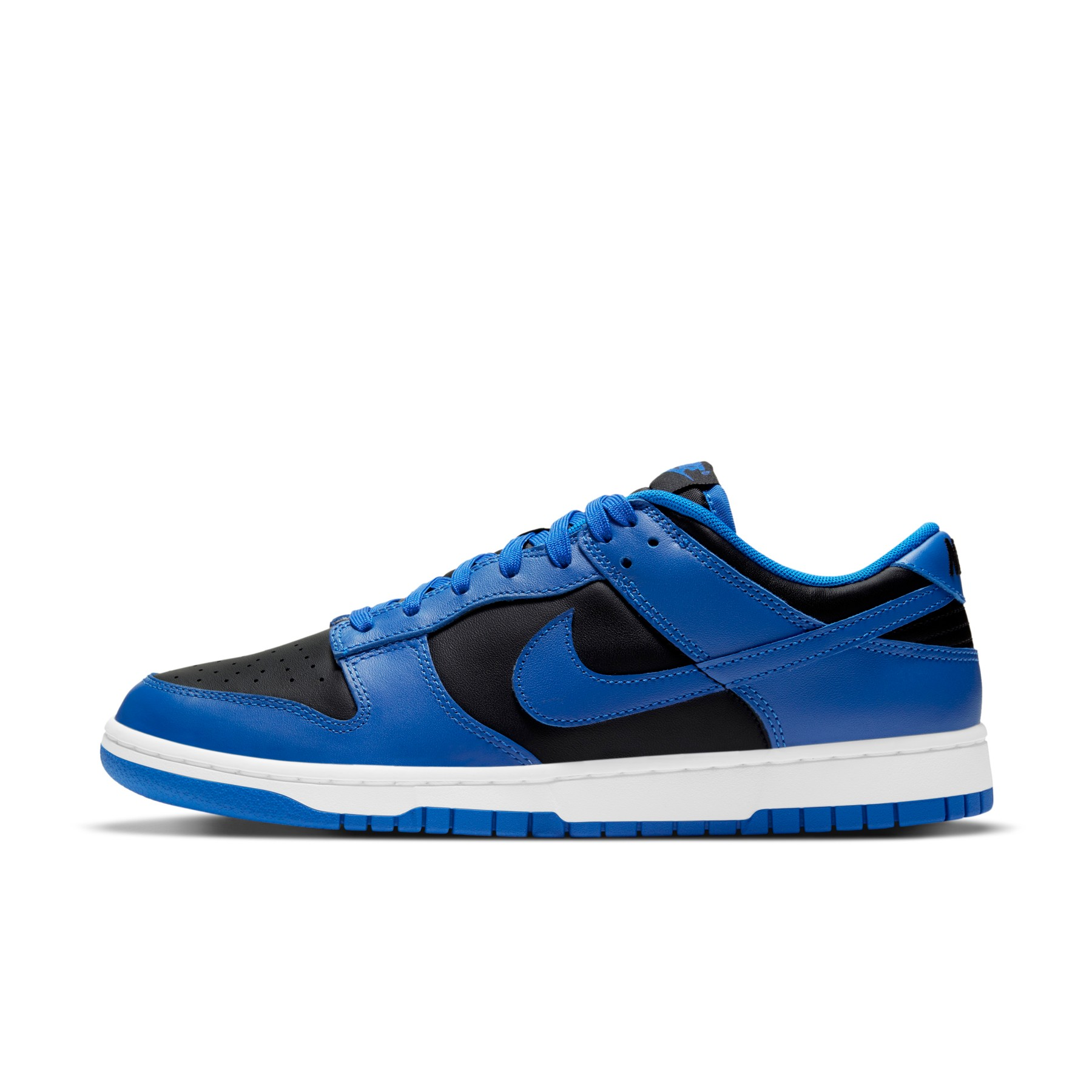 "Nike Dunk Low ""Black/Hyper Cobalt"""