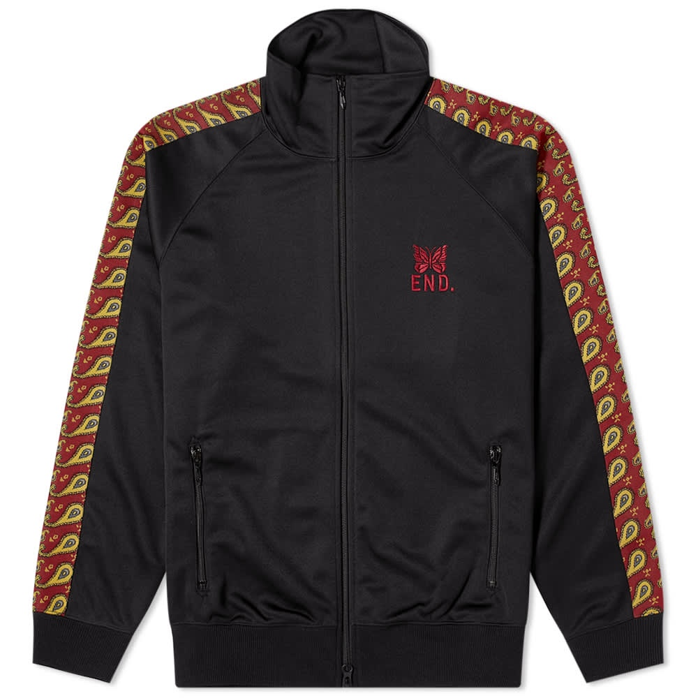 END x Needles track jacket paisley