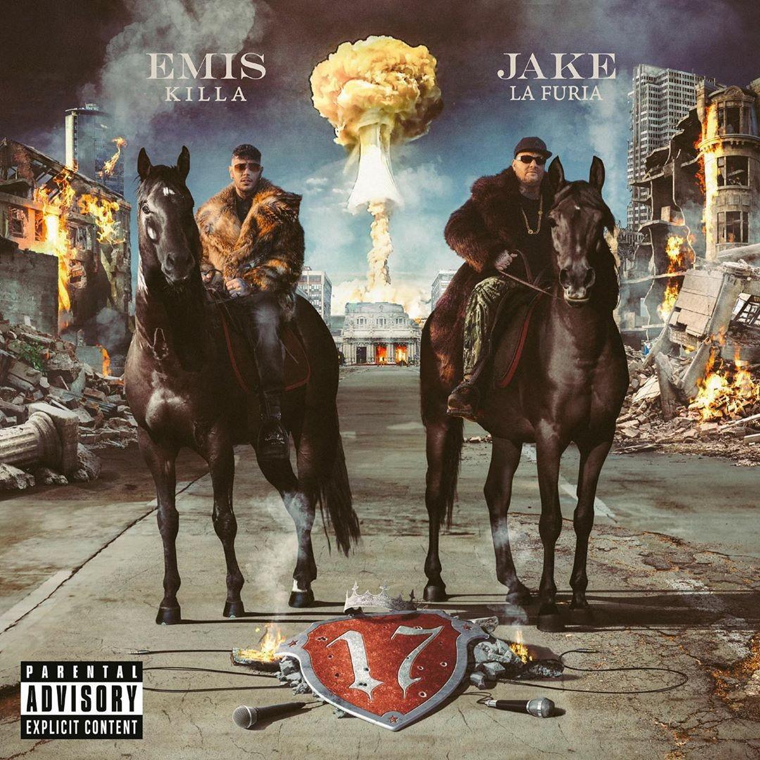 Emis Killa e Jake la Furia 17 cover