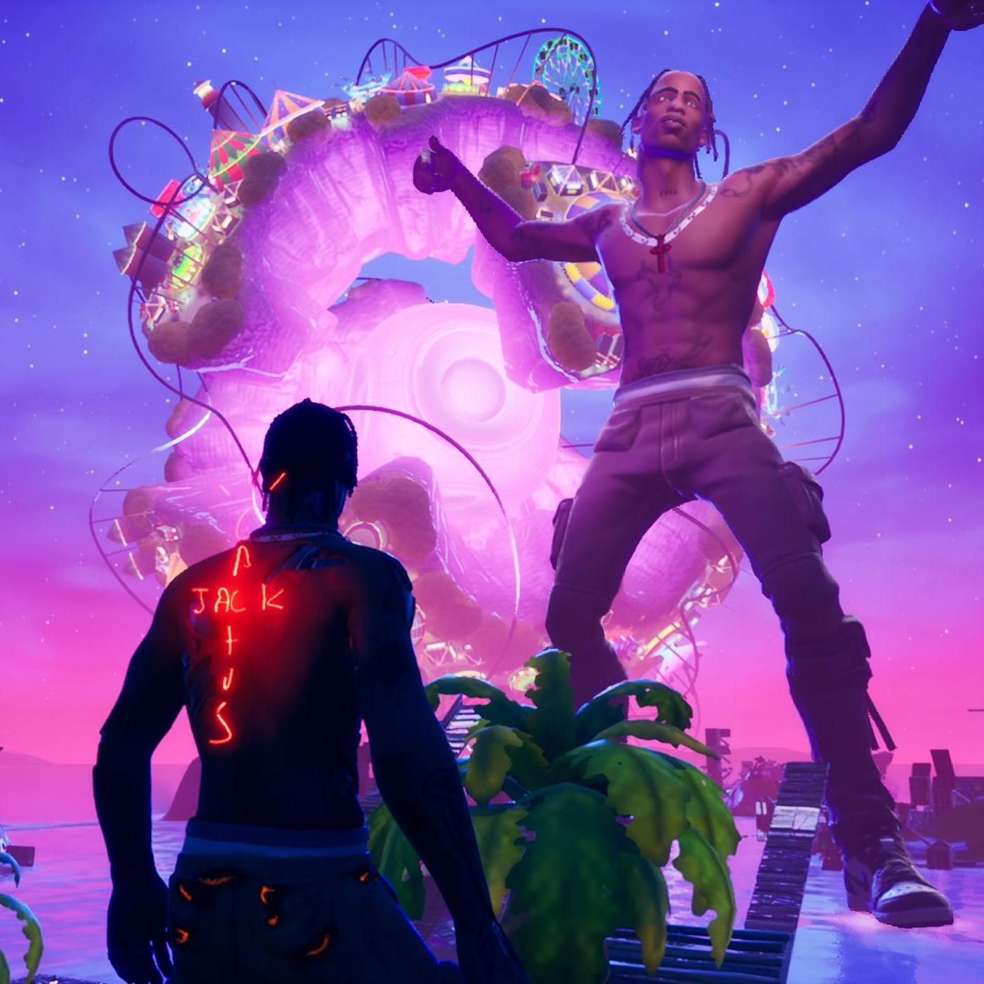 Travis Scott x Fortnite Astronomical