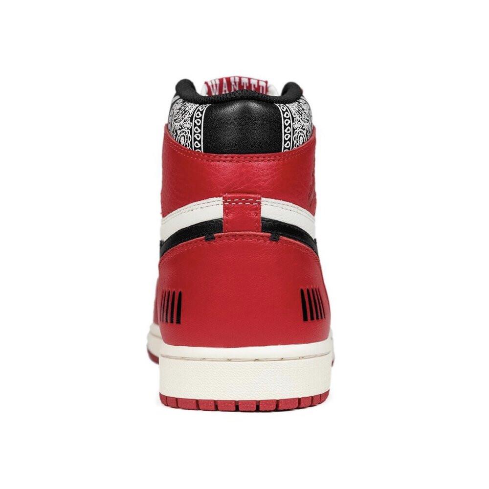 "Fugazi sneakers ""One in The Chamber"" heel paisley"