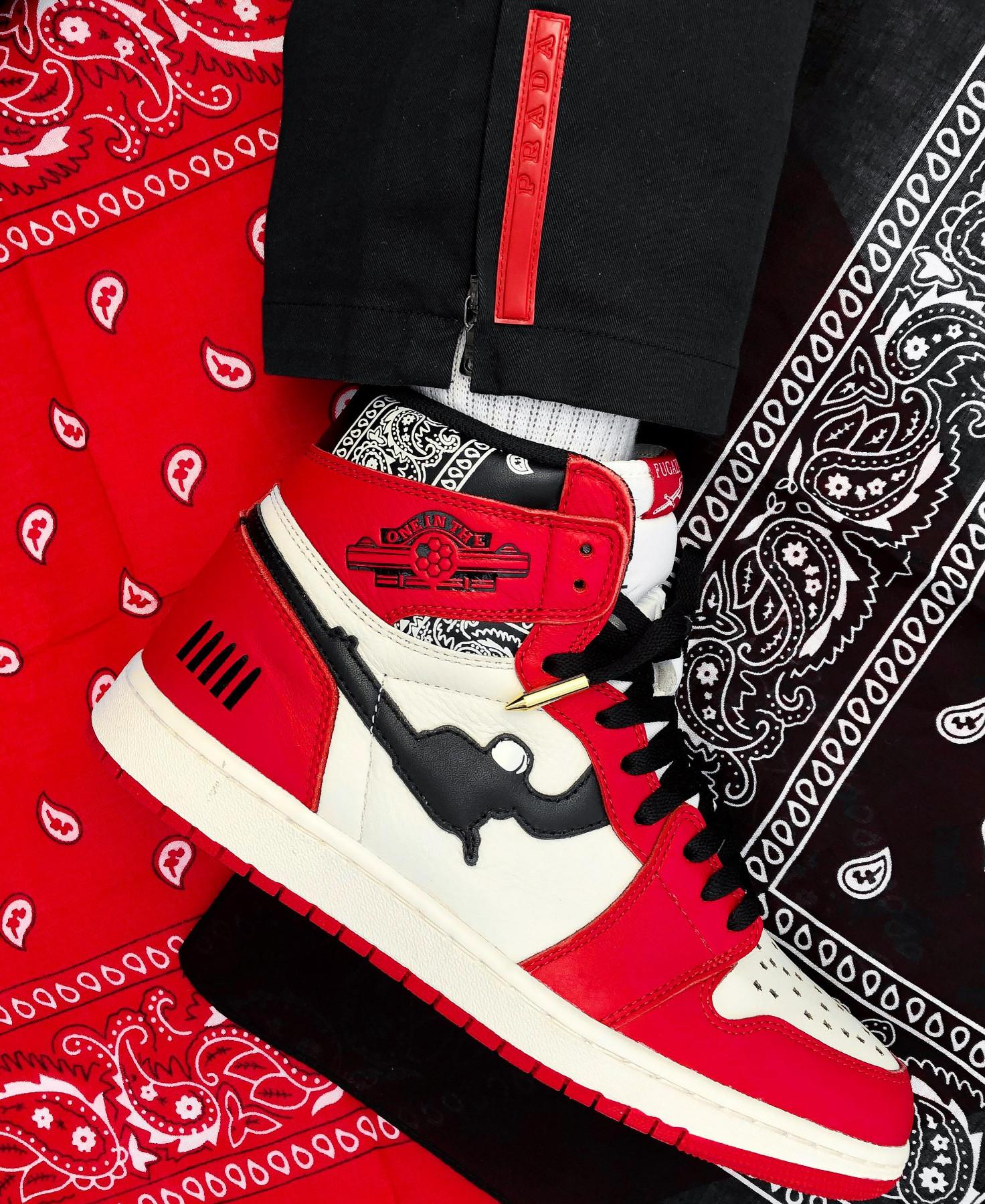 "Fugazi sneakers ""One in The Chamber"""