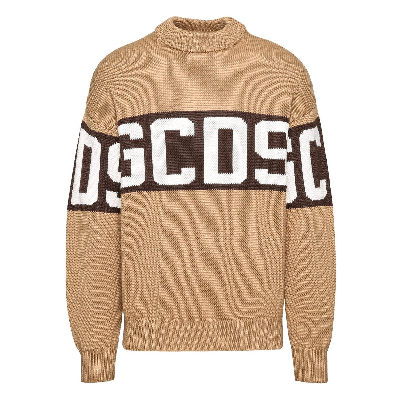 GCDS maglione con logo