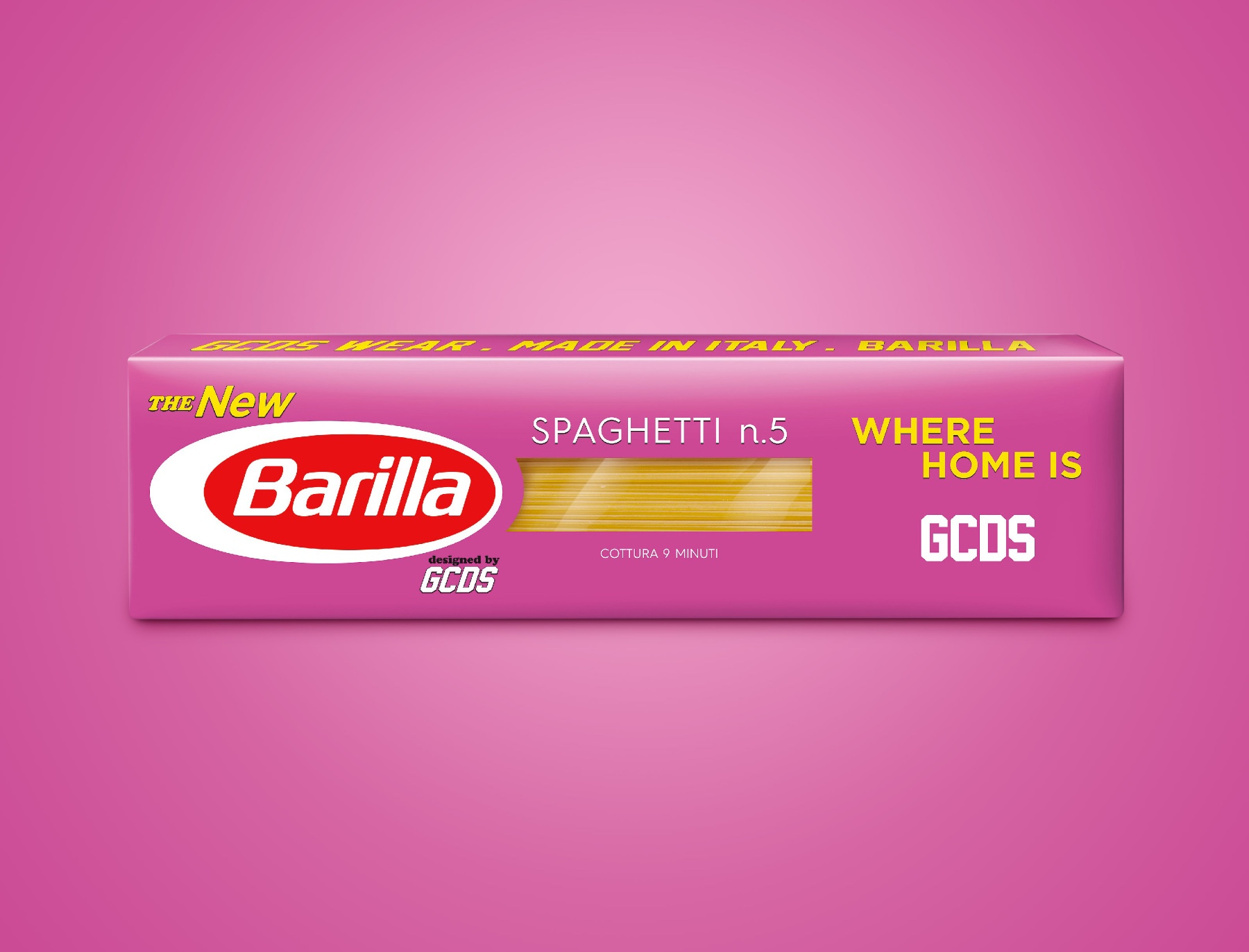 GCDS x Barilla invito