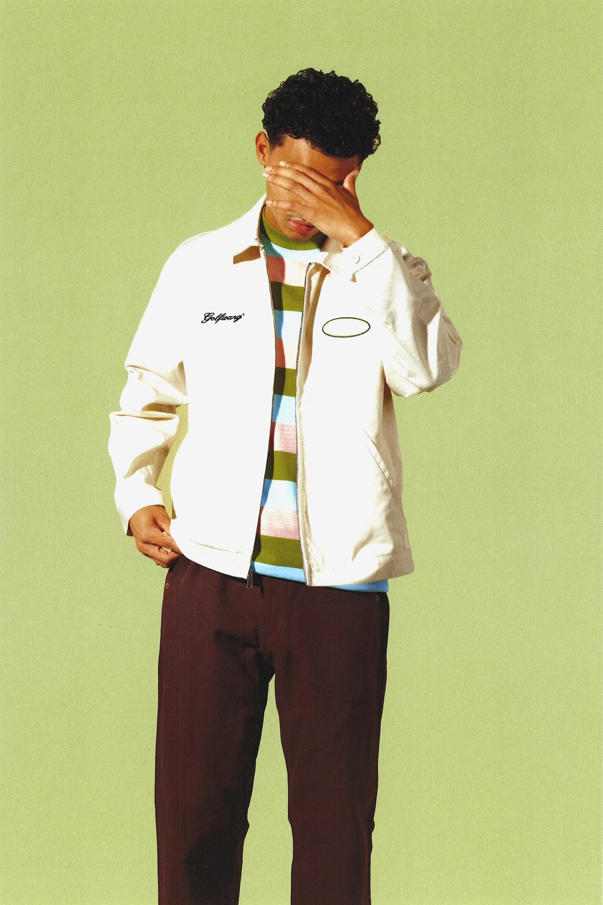 GOLF WANG FALL 2020 trucker jacket