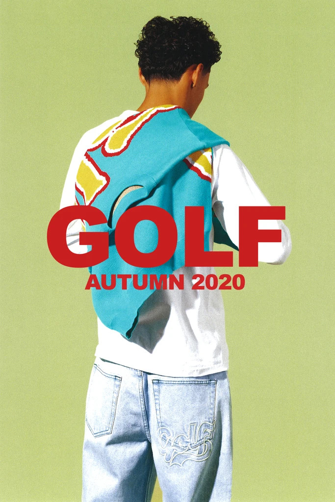 GOLF WANG FALL 2020 denim pant