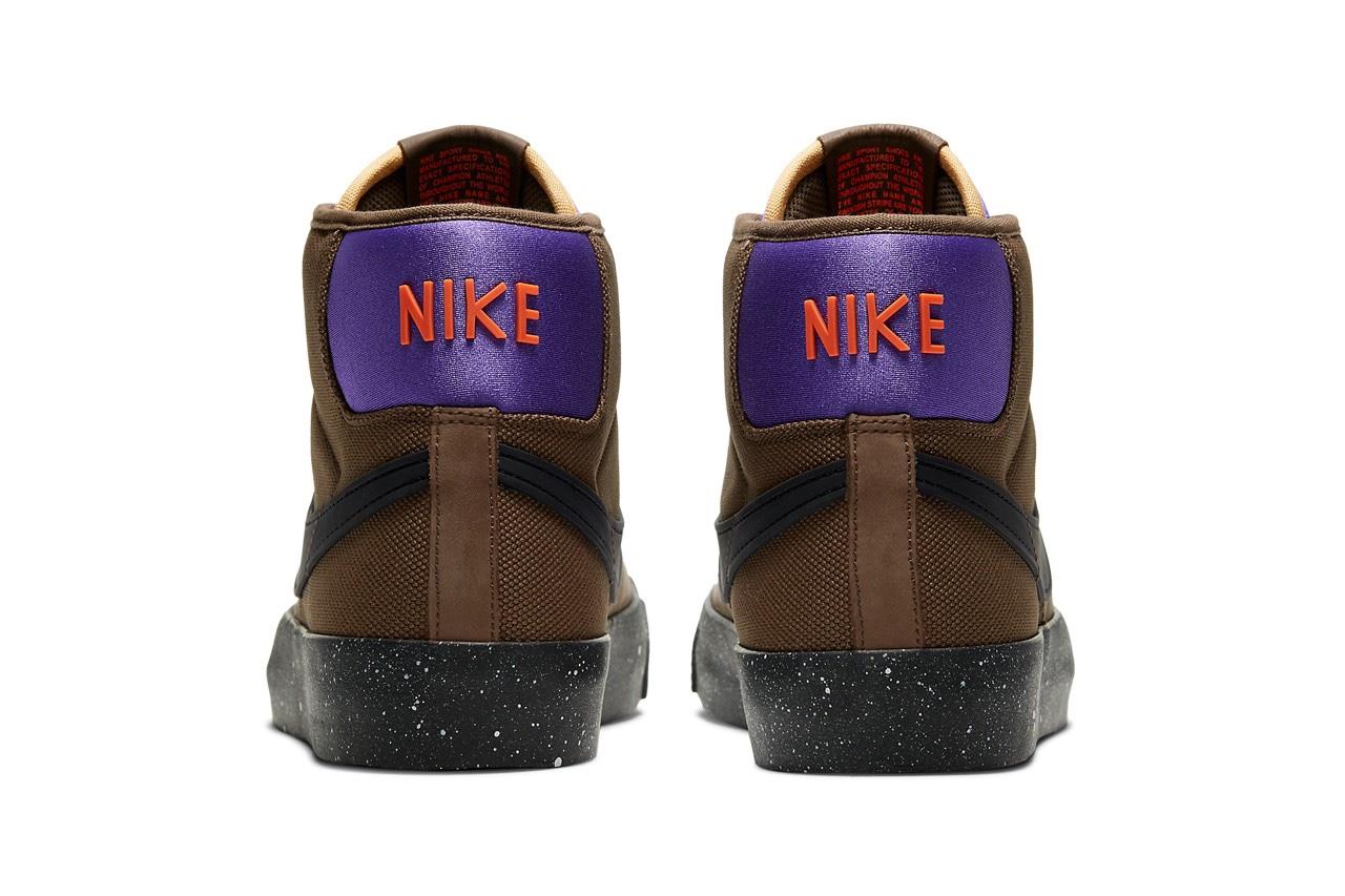 "Grant Taylor x Nike SB Zoom Blazer Mid Pro GT ""ACG"" marrone"