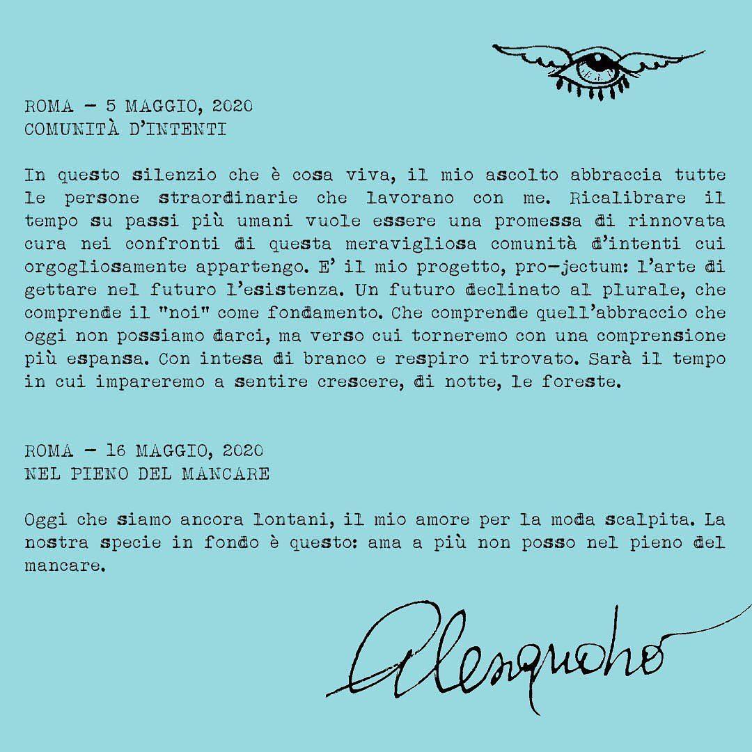 Gucci Alessandro Michele diario