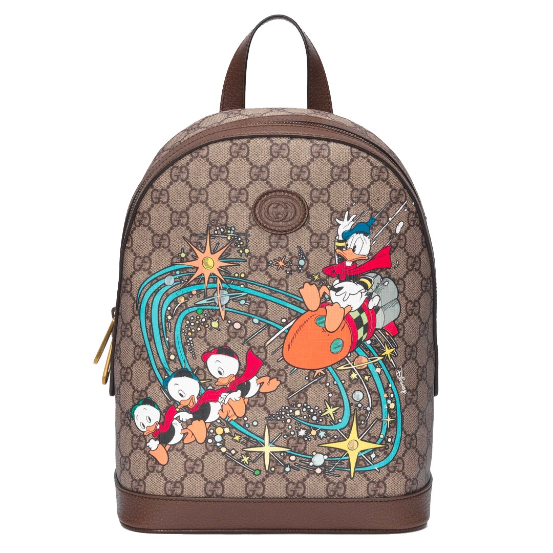 Gucci x Disney Paperino backpack